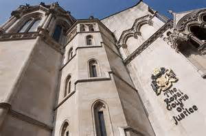 Find a barrister in Crawley - Chambers of Tahir Ashraf and Frank Dignan 5 Chancery Lane, in the High Street across the Morrisons supermarket - Photo-Royal Courts of Justice